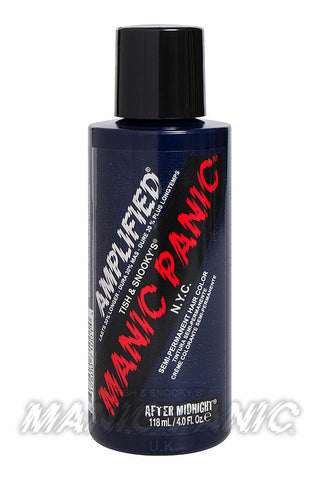 Manic Panic Amplified Hair Colour 118ml After Midnight | Angel Clothing