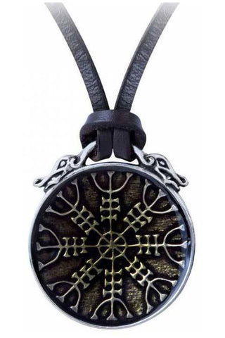 Alchemy Aegishjalmur Pendant P875 | Angel Clothing