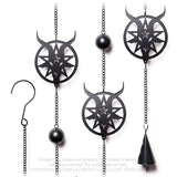 Alchemy Baphomet Wind Chime | Angel Clothing