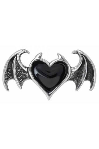 Alchemy Bat Blacksoul Ring | Angel Clothing