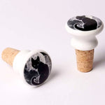 Alchemy Black Cat Bottle Stopper | Angel Clothing