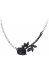 Alchemy Black Rose Enigma Necklace | Angel Clothing