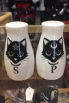 Alchemy Pagan Cats Salt and Pepper Set | Angel Clothing