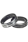 Alchemy Demon Black and Angel White Ring R212 | Angel Clothing