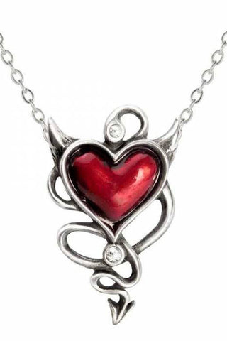 Alchemy Devils Heart Pendant ULFP20 | Angel Clothing