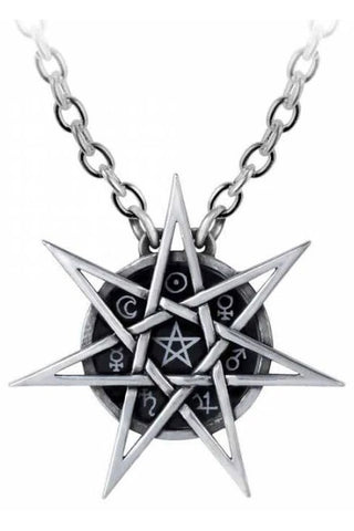 Alchemy Elven Star Pendant P878 | Angel Clothing