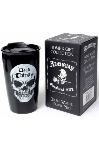 Alchemy Dead Thirsty Double Walled Mug | Angel Clothing