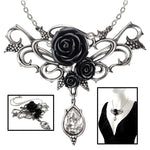 Alchemy Gothic Bacchanal Rose Necklace P700 | Angel Clothing