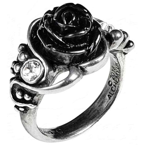Alchemy Gothic Bacchanal Rose Ring R223 - Angel Clothing