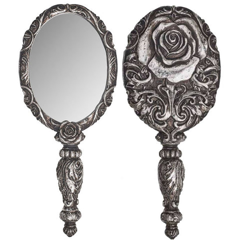Alchemy Gothic Baroque Rose Hand Mirror V58 - Angel Clothing