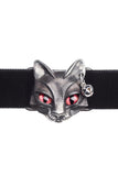 Alchemy Gothic Bastet Goddess Choker P817 | Angel Clothing