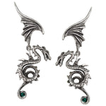 Alchemy Gothic Bestia Regalis Earrings E286 | Angel Clothing
