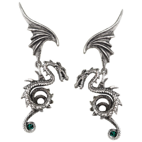Alchemy Gothic Bestia Regalis Earrings E286 - Angel Clothing