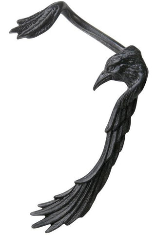 Alchemy Black Familiar Earwrap E355 | Angel Clothing