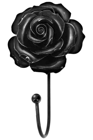 Alchemy Black Rose Hanger | Angel Clothing