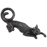 Alchemy Gothic Cat Sith Hair Clip HH11 | Angel Clothing