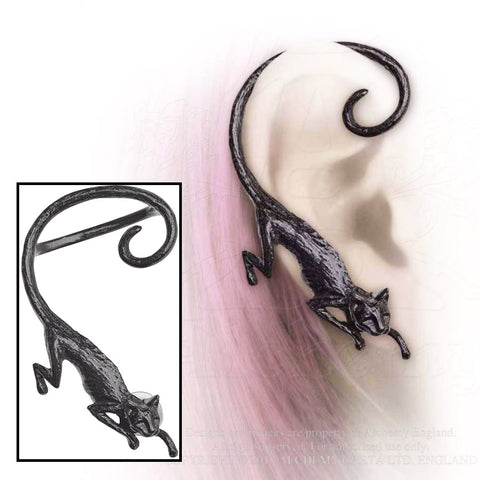 Alchemy Gothic Cat Sith Right Ear Wrap - Angel Clothing