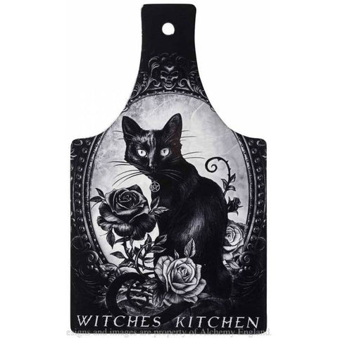 Alchemy Gothic Cats Kitchen Chopping Board - Angel Clothing