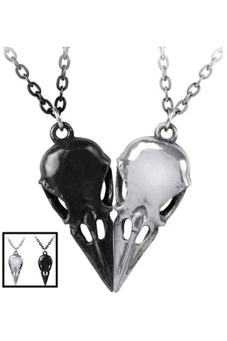 Alchemy Coeur Crane Necklace P834 | Angel Clothing