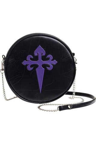 Alchemy Gothic Cross Shoulder Bag GB4 | Angel Clothing
