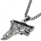 Alchemy Gothic Dark Wolf Pendant P833 | Angel Clothing