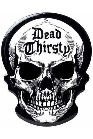Alchemy Dead Thirsty Skull Coaster | Angel Clothing