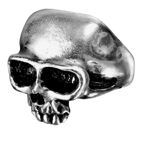 Alchemy Gothic Death Skull Ring R6 - Angel Clothing