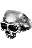 Alchemy Gothic Death Skull Ring R6 | Angel Clothing