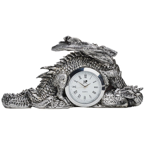 Alchemy Gothic Dragonlore Clock V46 - Angel Clothing
