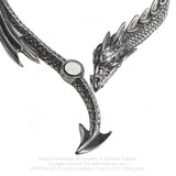 Alchemy Gothic Dragons Lure Bangle A124 | Angel Clothing