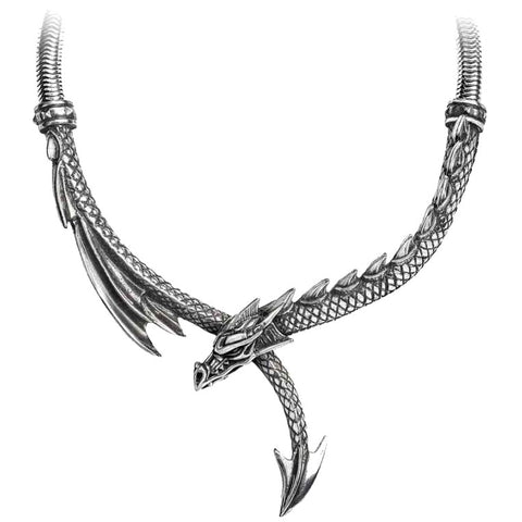 Alchemy Gothic Dragons Lure Necklace P829 | Angel Clothing
