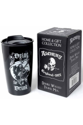 Alchemy Dying for a Drink Double Walled Mug | Angel Clothing