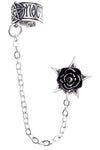 Alchemy Gothic Earring Rosa Nocta Earcuff E382 | Angel Clothing