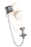 Alchemy Gothic Earring Thor Donner Earcuff E381 | Angel Clothing