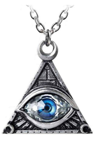 Alchemy Eye of Providence Pendant P827 | Angel Clothing