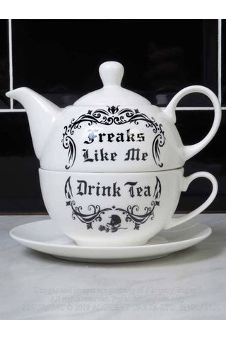 Alchemy Freaks Like Me Drink Tea Set | Angel Clothing