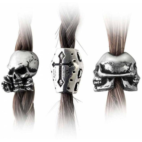 Alchemy Gothic Funereal Beard and Hair Beads - Angel Clothing