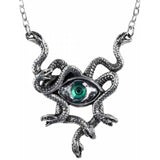 Alchemy Gothic Gorgons Eye Pendant P847 | Angel Clothing
