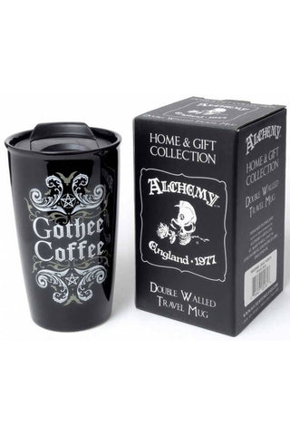 Alchemy Gothee Coffee Double Walled Mug | Angel Clothing