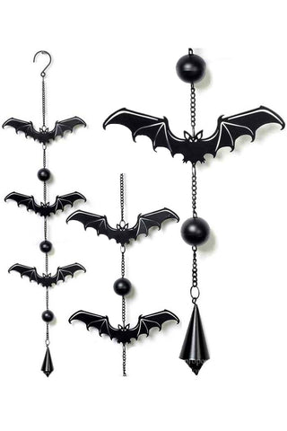 Alchemy Gothic Bat Wind Chime | Angel Clothing