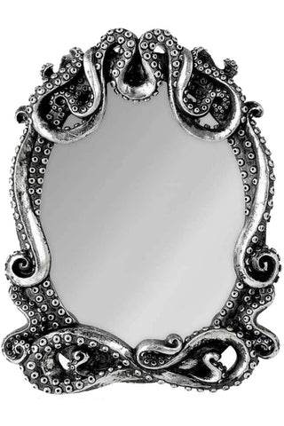 Alchemy Gothic Kraken Mirror 23.5cm V77 | Angel Clothing