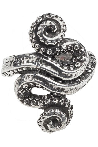 Alchemy Gothic Kraken Ring R221 | Angel Clothing