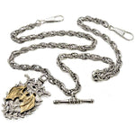 Alchemy Magistus Double-Albert Fob Chain AWC2 | Angel Clothing
