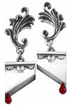 Alchemy Marie Antoinette Earrings E310 | Angel Clothing