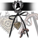 Alchemy Gothic Memento For A Highwayman Choker P641 | Angel Clothing