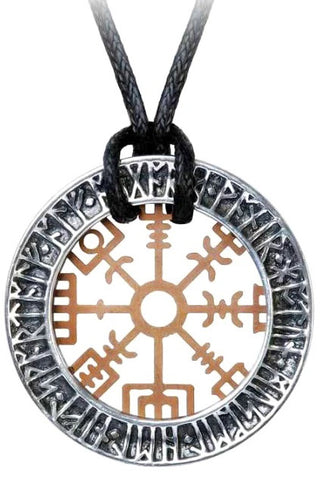 Alchemy Niu Heimar Vegvisir Pendant | Angel Clothing