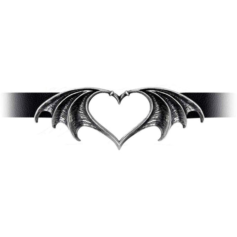 Alchemy Gothic Nocte Amor Choker P823 - Angel Clothing