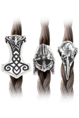 Alchemy Gothic Norsebraid Hair Beads | Angel Clothing