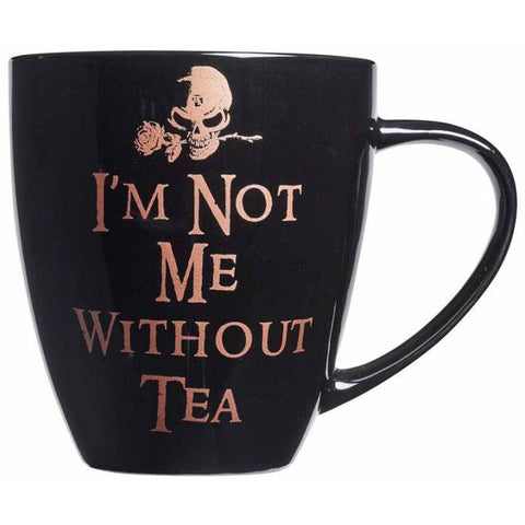 Alchemy Gothic Not Me Without Tea Mug - Angel Clothing