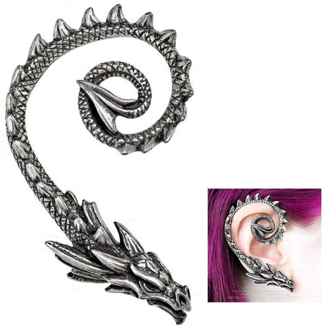 Alchemy Gothic Ostrogoth Dragon Ear Wrap E412 | Angel Clothing